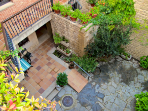 Casa Rural Erletxe Outdoor Courtyard