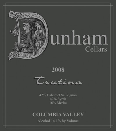 Dunham Trutina Wine Label