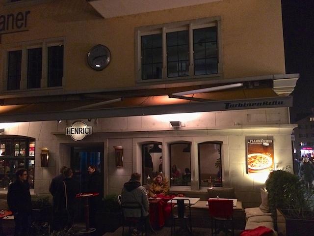 Cafe Henrici, Zurich, Switzerland